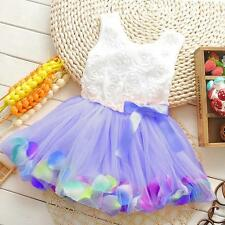 PRINCESS SUMMER FLOWER TUTU, Baby Girl's Petal Dresses