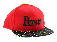 PENNY SKATEBOARDS HAT, Bel Air Snapback Cap, Embroidered Logo, Brim Design *NEW*