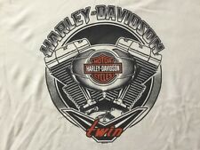 Harley Davidson V Twin White Shirt Nwt Men's XL