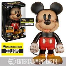 Mickey Mouse Vintage Premium Hikari Sofubi Vinyl Figure - Entertainment Earth Ex