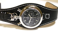 Aeromatic 1912 Bull Head Quartz Chronograph A1237 Crown & Pushers On Case Top
