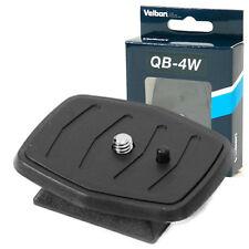 Velbon Quick Release Plate QB-4W for CX-444 460mini VCT-D580RM D680RM R640 etc