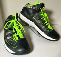 Nike Air Max Stutter Step Black Gray Green 599565-002 Size 11