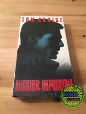 Mission Impossible (1996) VHS - BRAND NEW - Tom Cruise - Brian De Palma