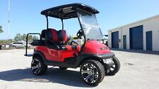 2014/2017 Club Car LIFTED 4 Pass Street Legal Lites Hi Spd Precedent Golf Cart