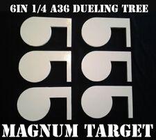 Rimfire 22LR Steel Shooting Range Targets - Dueling Trees - Metal Pistol Paddles