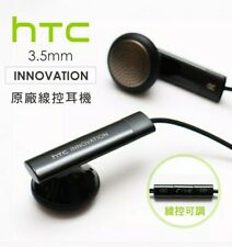 Genuine HTC Original Black 3.5mm Stereo Headset Tangle Free Earphone Headphone