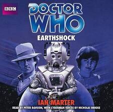 DOCTOR WHO EARTHSHOCK - IAN MARTER - NEW/SEALED - 4 CD - BBC AUDIO BOOK