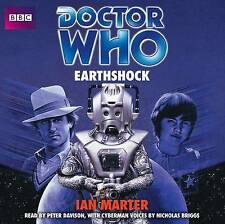 DOCTOR WHO EARTHSHOCK - IAN MARTER - NEW/UNSEALED - 4 CD - BBC AUDIO BOOK