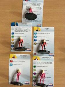 Heroclix Giant Size X-Men HELLFIRE CLUB 012#013#014#021#022# HELLIONS