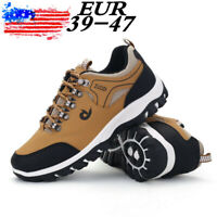 Mens Outdoor Hiking Running Shoes Camping Trainers Boots Waterproof Sneakers