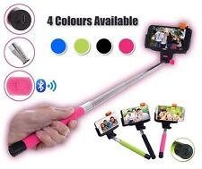 Wireless Bluetooth Extendable Selfie Stick Monopod Phone Holder - Pink