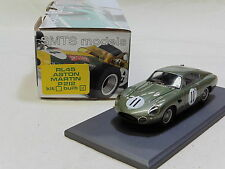1/43 rl45 ASTON MARTIN PROJECT 212 1962 LE MANS Hill/GINTHER #11 BY SMTS