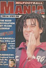 Mirror Football Mania Plus No 1 - 11-Sep-96 Rudd Rob Andrew Mansell Ian Rush
