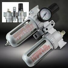 AIR CONTROL UNIT REGULATOR AND OIL LUBRICATOR NEW COMPRESSOR moisture trap