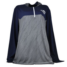 NFL Los Angeles Rams Dry Fit Long Sleeve Tshirt Womens Navy Collard Football