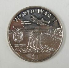 New listing Liberia Commemorative Coin $1 1997 - World War Ii - Raid On The Dams