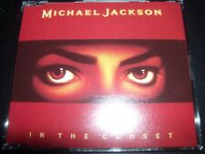 Michael Jackson In The Closet Rare Australian Remixes 8 Track Remixes CD Single
