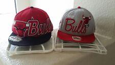 Two Chicago Bulls Windy City Snapback Hats