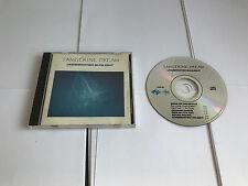 Tangerine Dream Underwater Sunlight Jive Electro CHIP40  CD 5013705004025 1986