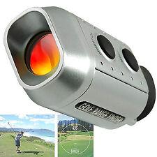 Digital 7X Optic Telescope Pocket Laser Golf Range Finder Rangefinder Golf Scope