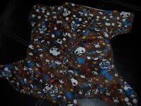 Panda brown  2 diapers pocket cloth diaper no doubler