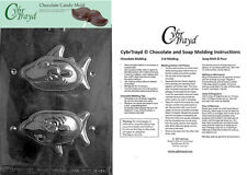 Shark Chocolate Candy Mold, In Sealed Poly Bag w/Instructions