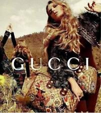 $2600 Gucci Boston Bag Babouska Rabbits Applique  Monogram Patent Leather