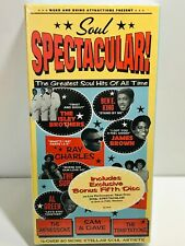 SOUL SPECTACULAR: GREATEST SOUL HITS OF ALL TIME -  5 CD - SEALED / NEW