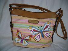 Rosetti Savannah Garden Mid Crossbody Bag Sunrise Butterfly  NEW
