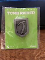 Xbox One Limited Edition Rise of the Tomb Raider promo Pin