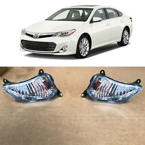 Front Turn Signal Lamp Pair TO2531151 TO2530151 for 2013 2014 2015 Toyota Avalon