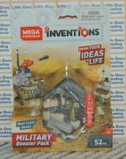 Mega Construx Inventions MILITARY BOOSTER PACK Building Set FWP18 - 52 Pieces