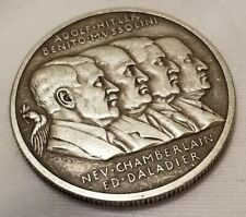Ww2 Wwi German Olympic Coin Allies medal medallion 1938