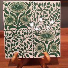 Reproduction English Arts & Crafts tile William Morris DeMorgan Voysey
