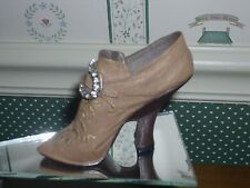 1998 Raine-Just The Right Shoe Figurine-Teetering Court-Good Condition- Box
