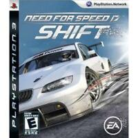 Need for Speed Shift Playstation 3 Game PS3 Used Complete