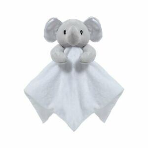 White Mink Baby Novelty Elephant Comforter