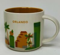 Starbucks Orlando You Are Here Series Collector Mug