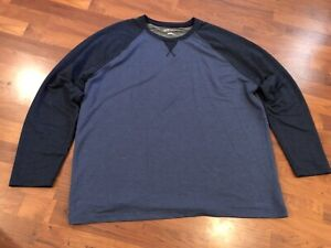 Men's Orvis Classic Collection Long Sleeve Crewneck Thermal Shirt Size XXL 2XL