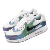 Nike Air Max 90 20 GS White Multi-Color Bubble Pack Women Kids Shoes CT9631-100