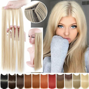 Real Halos Secret Wire in Hair Extensions Hidden Invisible Headband AS Human HYT