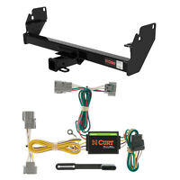 Class 3 Curt Trailer Hitch & Wiring Package for Toyota Tacoma