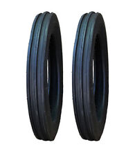 2 New 400 19 4 19 Atf Front Tractor Tires Fits Ford 8n 9n 400 19