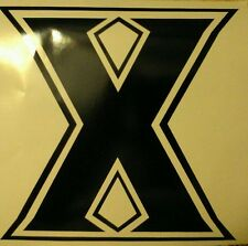 XAVIER University CORNHOLE DECALS - 2 CORNHOLE DECALS Vinyl Vehicle Decals
