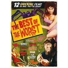 The Best of the Worst: 12 Movie Set (DVD 2013 3-Disc) Cult Horror Classics NEW