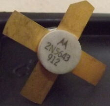Transistor RF 2N5643 Motorola 40 Watt a 175 MHZ