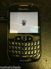 BlackBerry Curve 8530 3G QWERTY - Black (U.S. Cellular) Smartphone AS IS