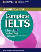 Cambridge English COMPLETE IELTS Bands 4-5 TEACHER'S BOOK with Answer Key @New@