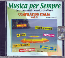 Compilation Italia vol.2 *5 (2004) CD NUOVO Don Backy L'immensità. The Renegades